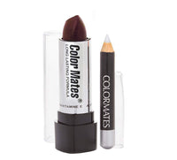 Lipstick & Lipliner Set - Dark Wine