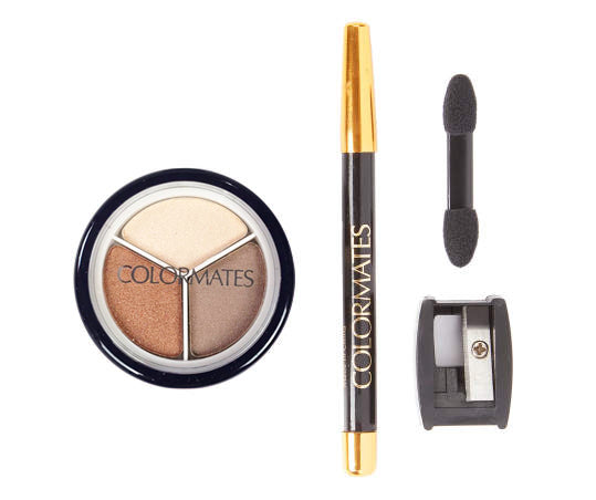 Eyeshadow & Eyeliner Pencil Kit - Shimmering Sands