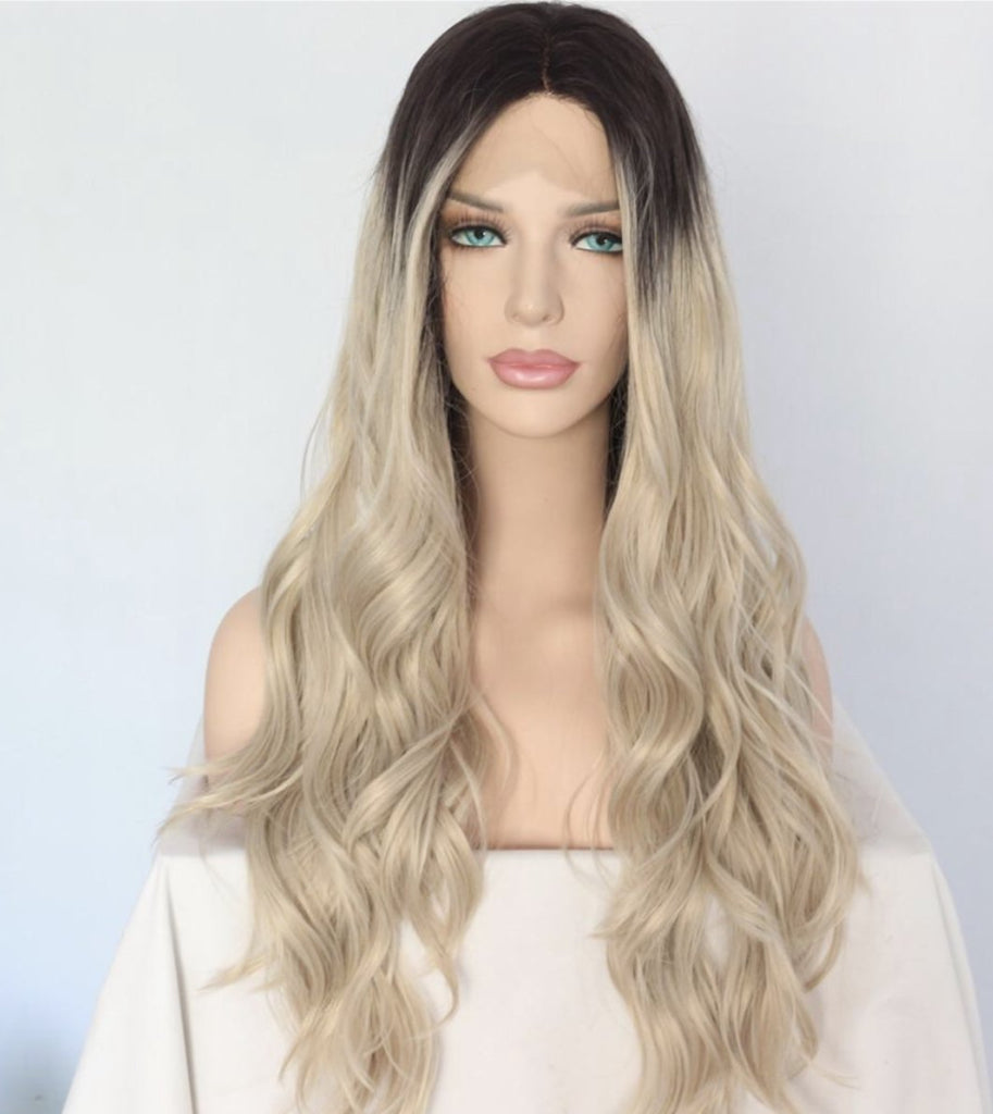 Load image into Gallery viewer, Dr. Adina Synthetic Lace Front Wig 24""