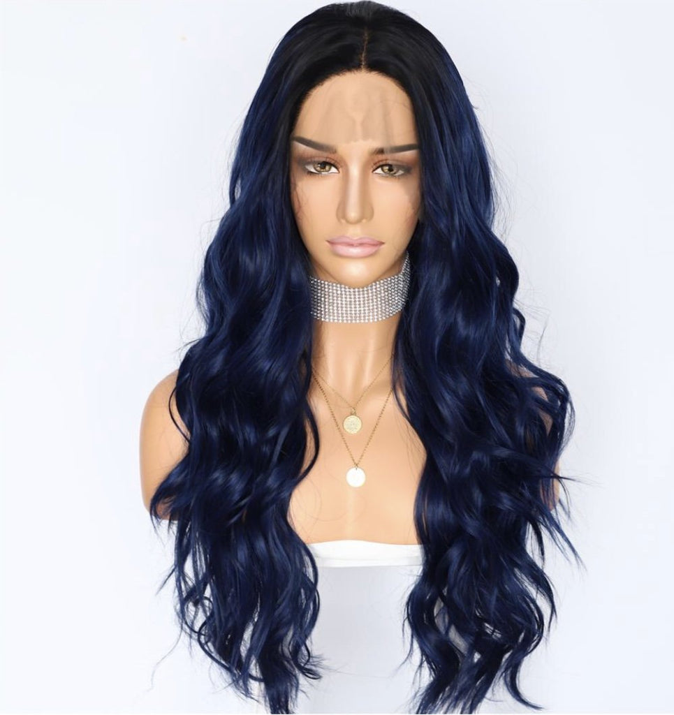 Load image into Gallery viewer, Lulu Synthetic Lace Front Wig 24""