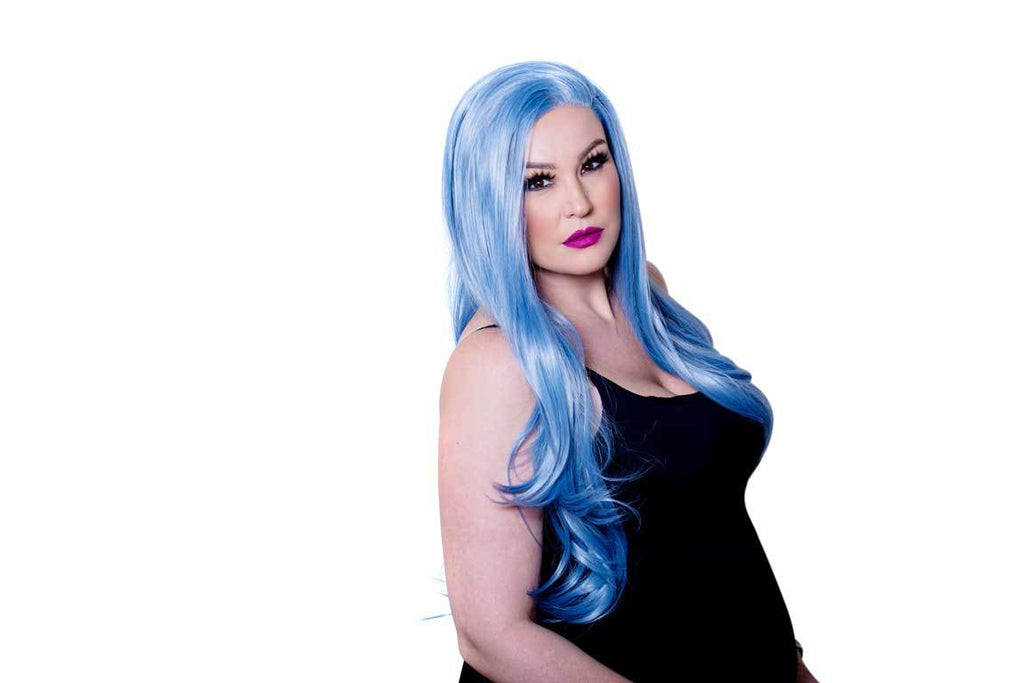 Load image into Gallery viewer, Ariel Synthetic Lace Front Wig 24""