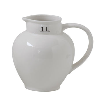 1 L. Ceramic Pitcher
