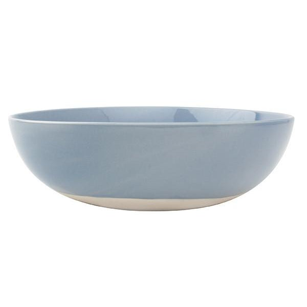 Shell Bisque Round Serving Bowl