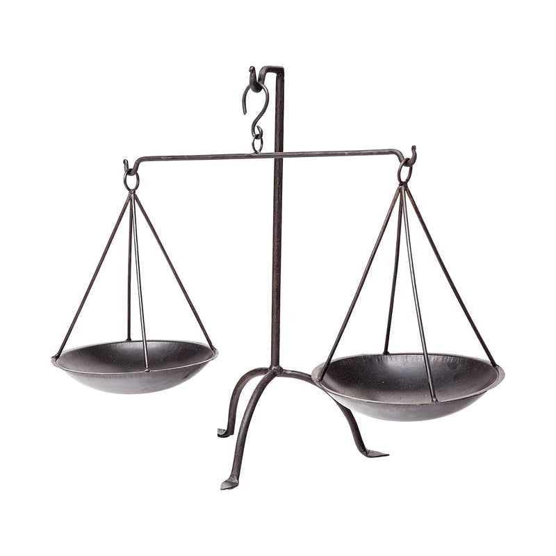 Weighing the balance scales
