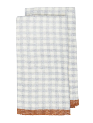 Two-Tone Gingham Towel