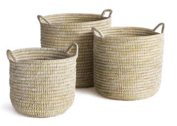 Rivergrass Round Baskets