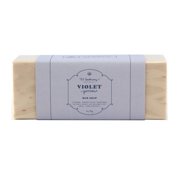 Violet + Yarrow Triple milled Bar Soap