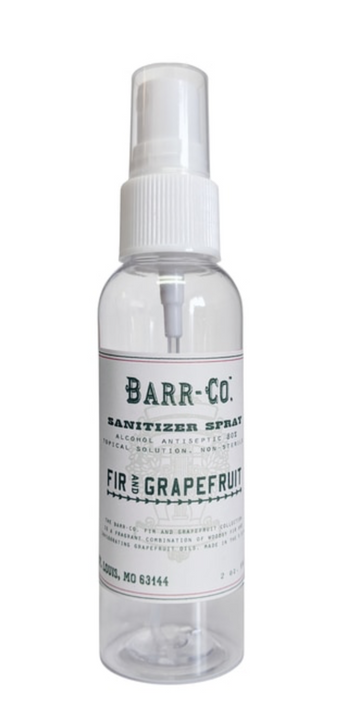 Fir & Grapefruit 2 oz Sanitizer Spray