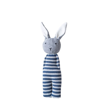 Cotton Knit Bunny Rattle