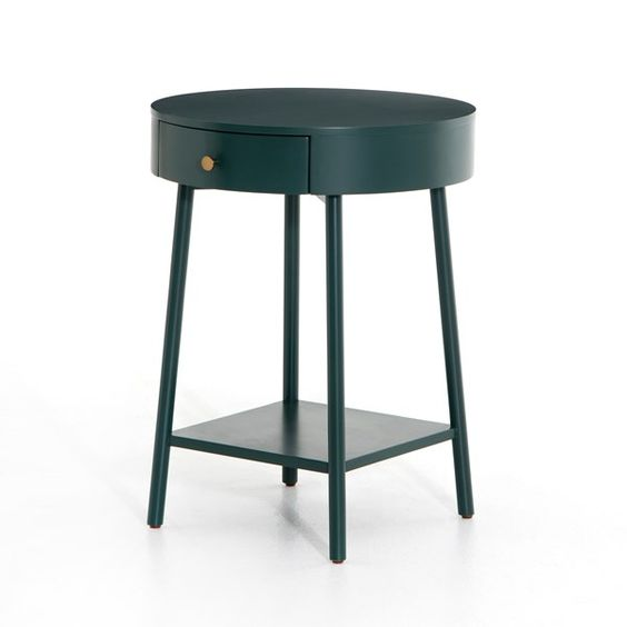 Van Nightstand in Juniper Green