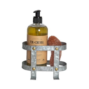 Galvanized Basket Soap Holder