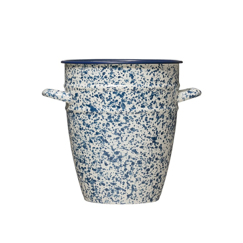 Mariposa Splatterware Pot