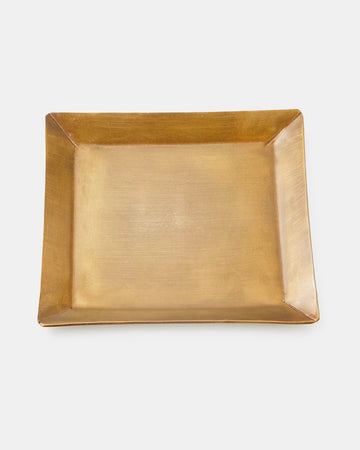 Brass Plate Square