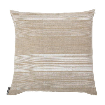 Stripes Shades of White Pillow