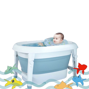 Knicknacks Classic Collapsible Wash and Play Tub