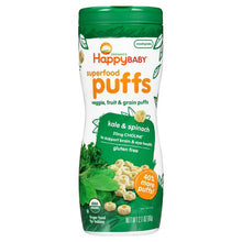 Load image into Gallery viewer, Happy Baby Superfood Puffs Snack