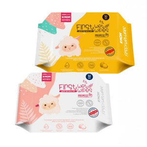K-Mom First Promise Wet Wipes 30's (Basic)