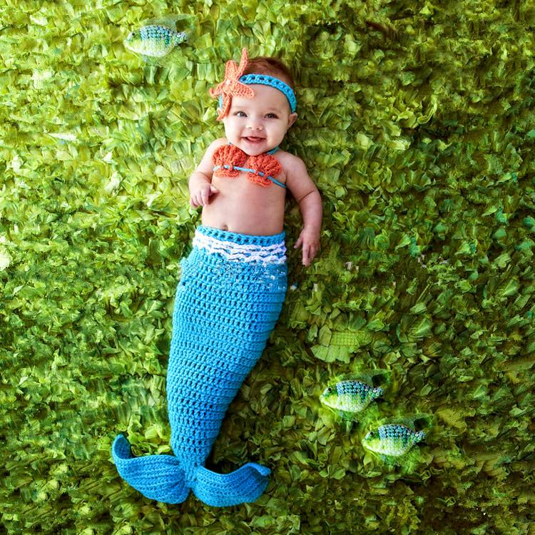 Snap & Snug Baby Mermaid Tail Blanket - Coralia