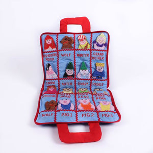 Finger Puppets Fairy Tale Series Cloth Book