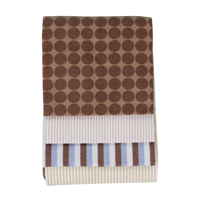 Carter Liebe 4-pack Receiving Blanket (76cmx76cm)