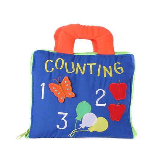 123 Counting Cloth Book 2.0 Cloth Book