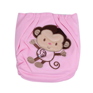 Cloth Diaper with Back Design