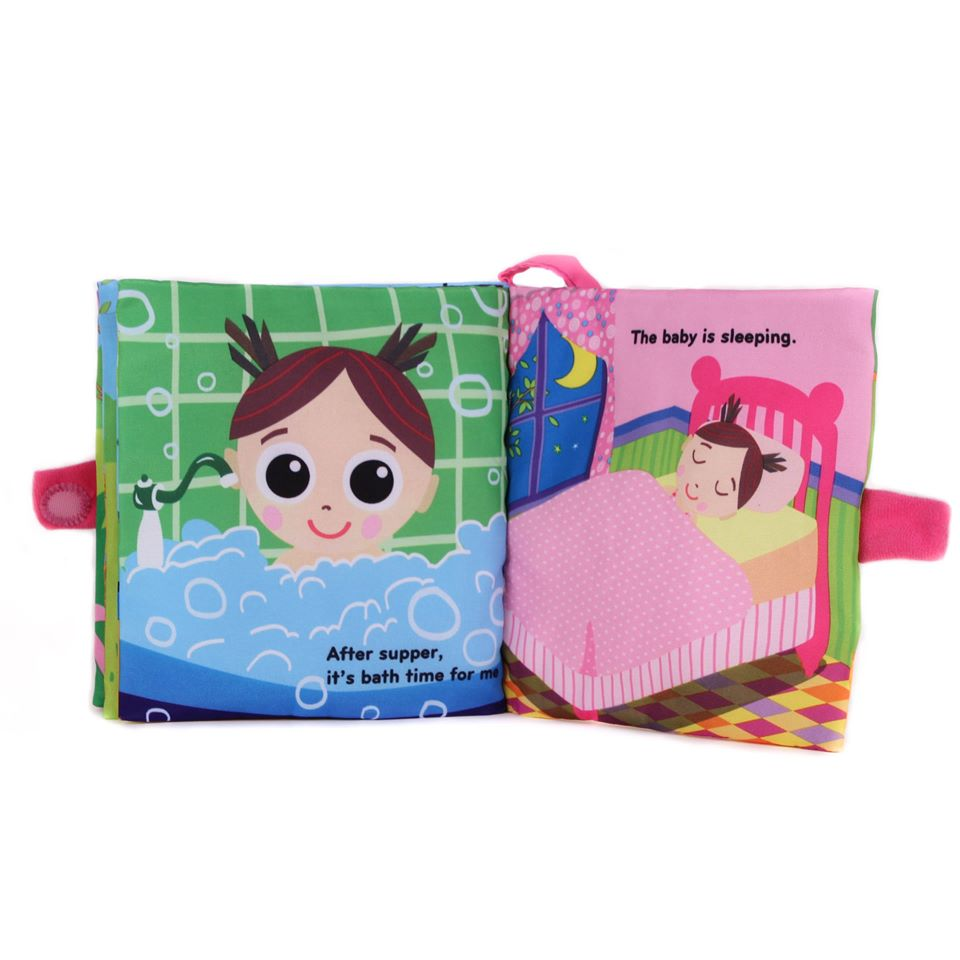 Jolly Baby Book - Baby's Day