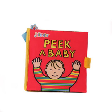Jolly Baby Book - Peek A Baby