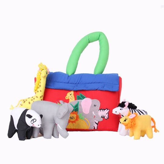 Zoo Bag Soft Toy