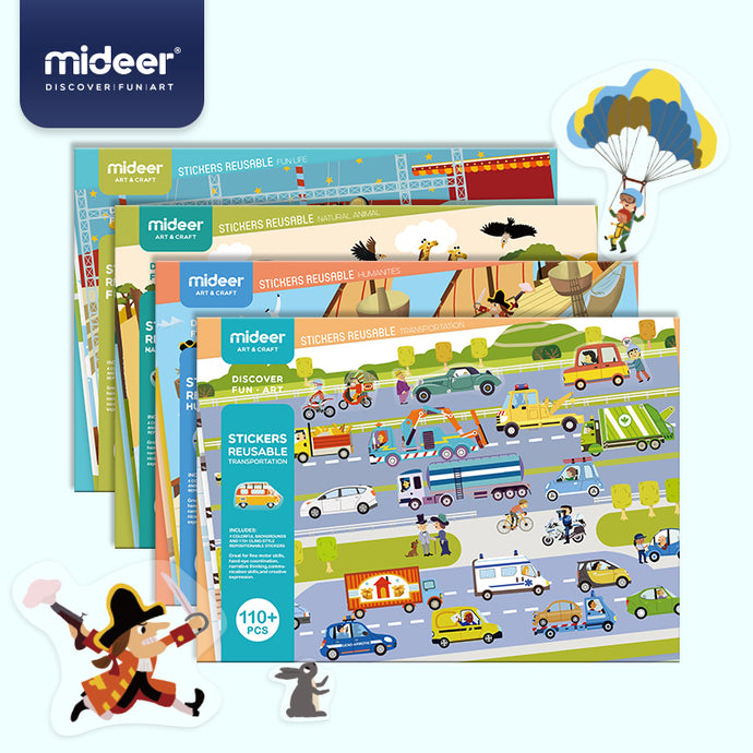 Mideer Reusable Stickers