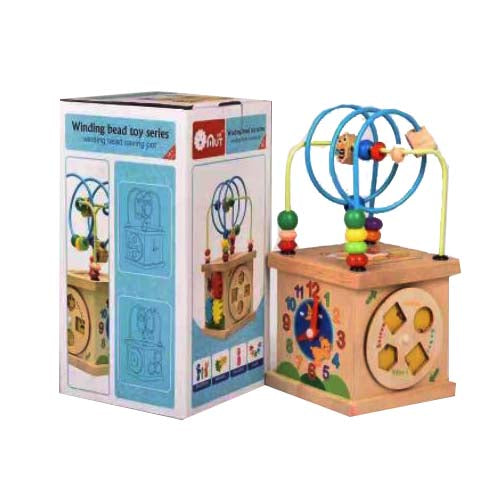 Wooden - Winding Bead Toys