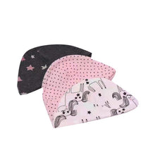 Load image into Gallery viewer, Carter Liebe 3pcs. Newborn Cotton Hat Set