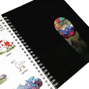 Discovery Learning Book with Flashlight Effect