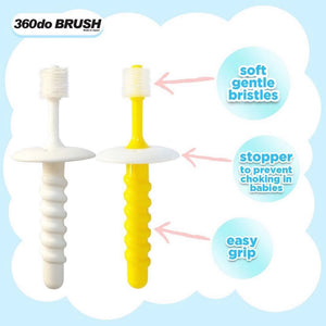360do Circular Toothbrush for Baby with Stopper