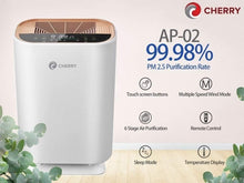 Load image into Gallery viewer, Cherry Home Air Purifier AP-02 with UVC Light