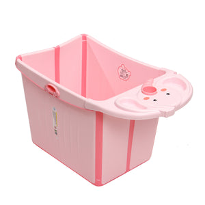 Bunny Bubbles Baby Co Large Foldable Baby Tub