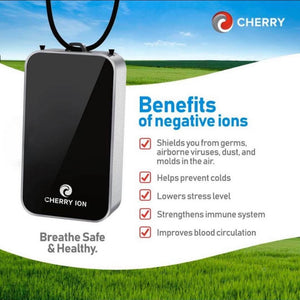 Cherry Ion Personal Wearable Air Purifier