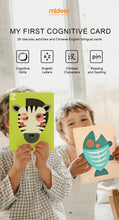 Load image into Gallery viewer, Mideer My First Cognitive Cards a Mask Card for Fam Interactions