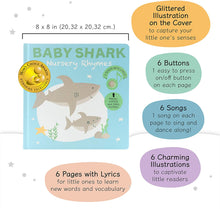 Load image into Gallery viewer, Cali's Books Baby Shark Nursery Rhymes