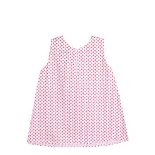 Load image into Gallery viewer, Adorable Baby Girls Kids Polka Dots Top Blouse w/ Collar