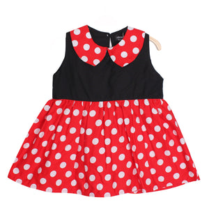 Adorable Baby Girls Kids Minnie Mouse Dress