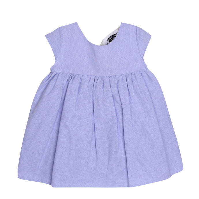 Adorable Baby Girls Kids Dress with Ribbon on the Back