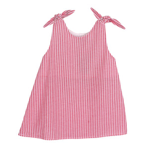 Adorable Baby Girls Kids Stripes Tie Top