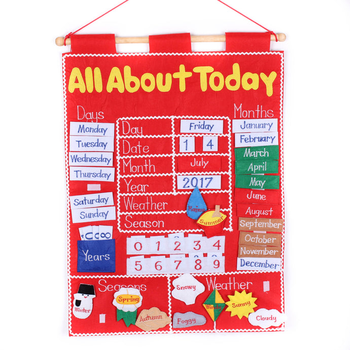 All About Today Calendar Chart