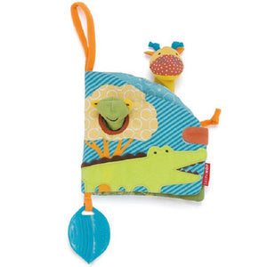 Teething - Giraffe Safari Puppet Soft Activity Book