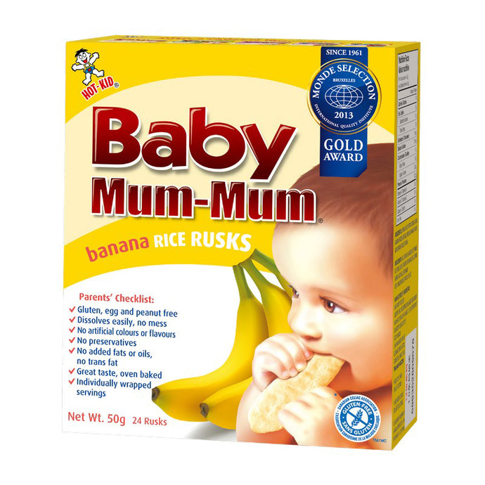 Hot Kid Baby Mum Mum Rice Rusks