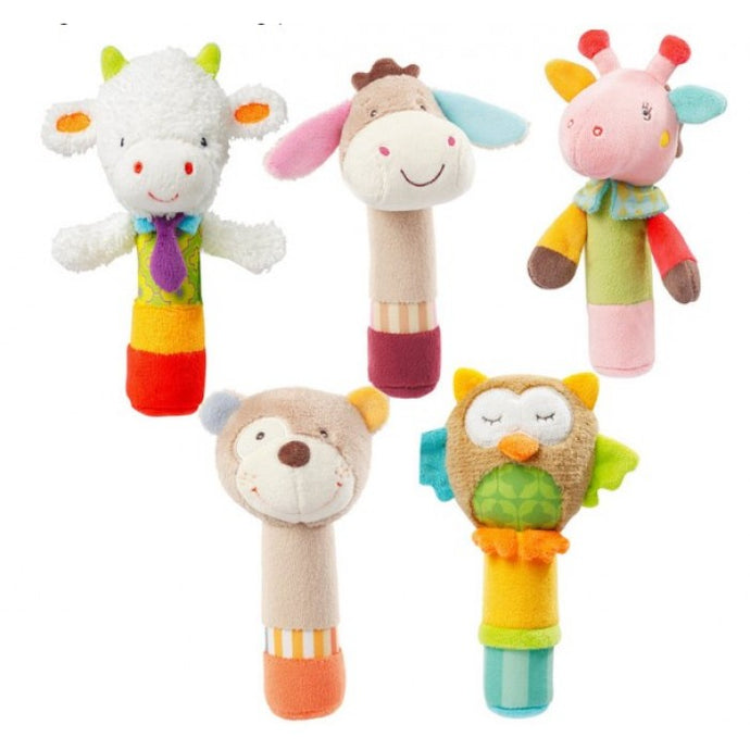 Soft Toys Jjovce Rattle Handle