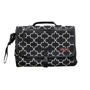 Bebe Chic Changing Clutch - Quatrefoil