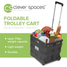 Load image into Gallery viewer, Clever Spaces Foldable Trolley Cart