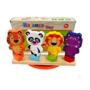 Wooden Animals Balance Toy